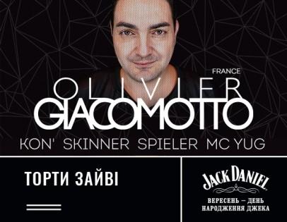 Jack's Birthday: OLIVIER GIACOMOTTO (FRANCE)
