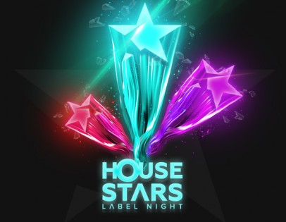 """House stars label night"""