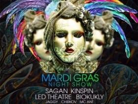 Mardi Gras @ Saxon Club, 22.10.2016