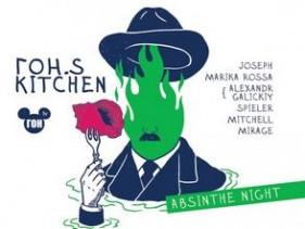 ГОН.s Kitchen - Absinthe Night - Saxon Club // 16.11.12